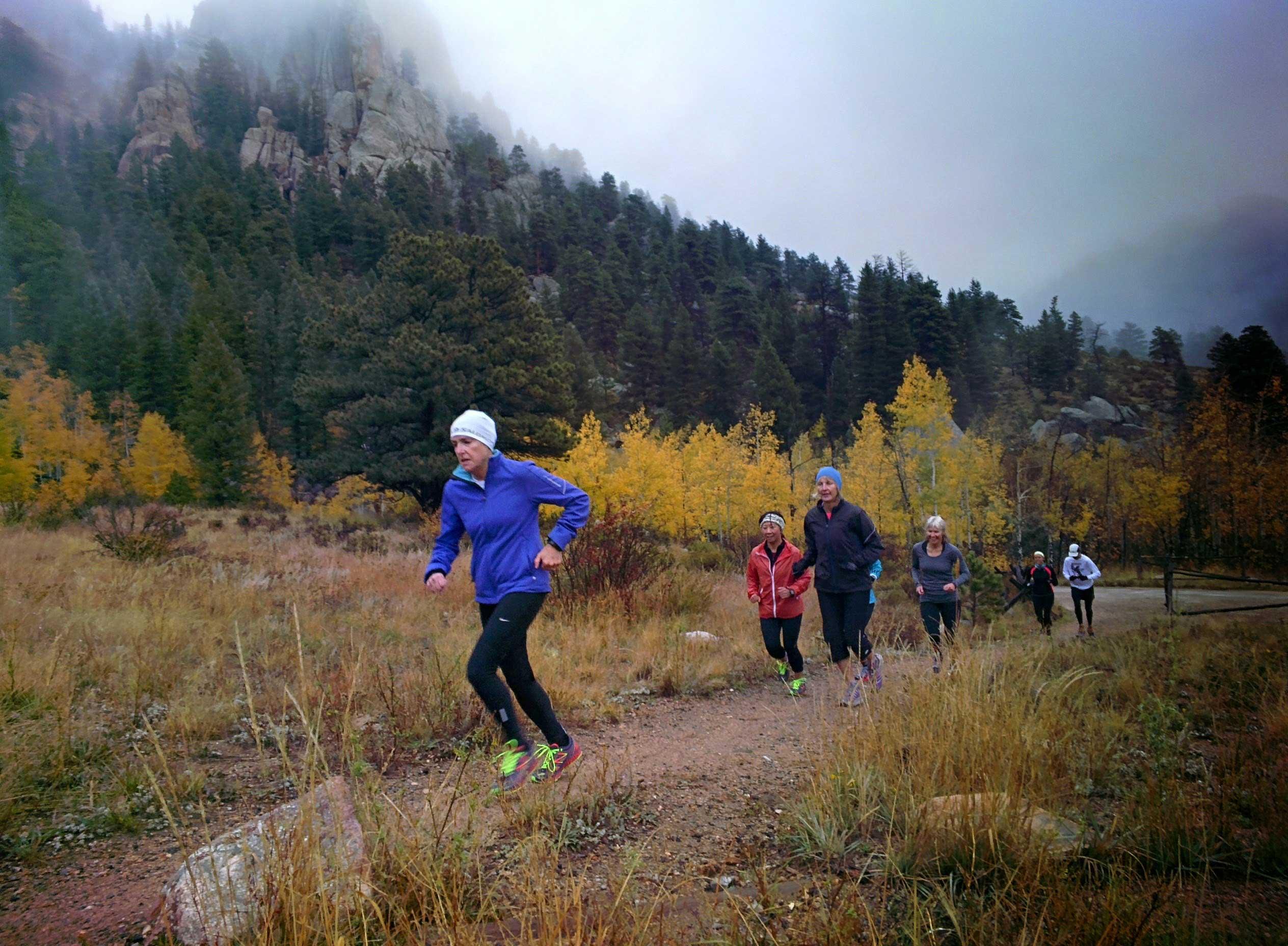 Trail running rules on the run — ATRA
