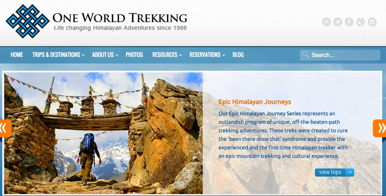 One World Trekking Essay Contest Atra