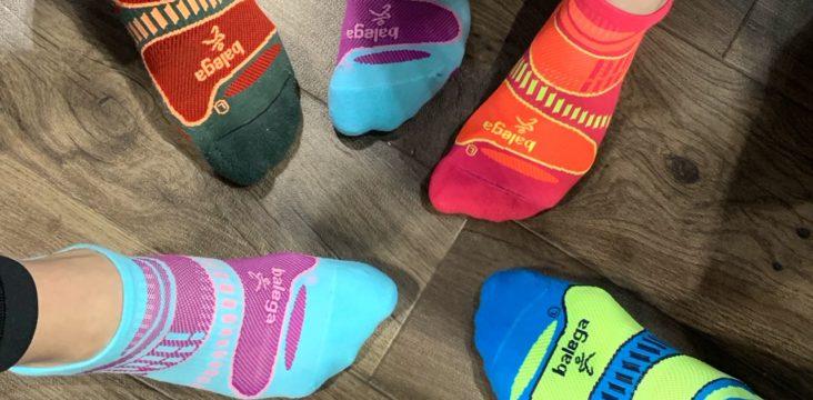 Green Pepper Balega Blister Resist No Show Running Socks