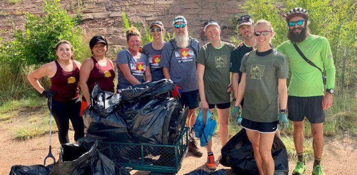 Colorado Springs Plogging Day Sweeps the Trails Clean — ATRA