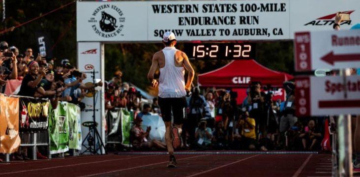 2019 Western States 100 Matt Daniels Finish