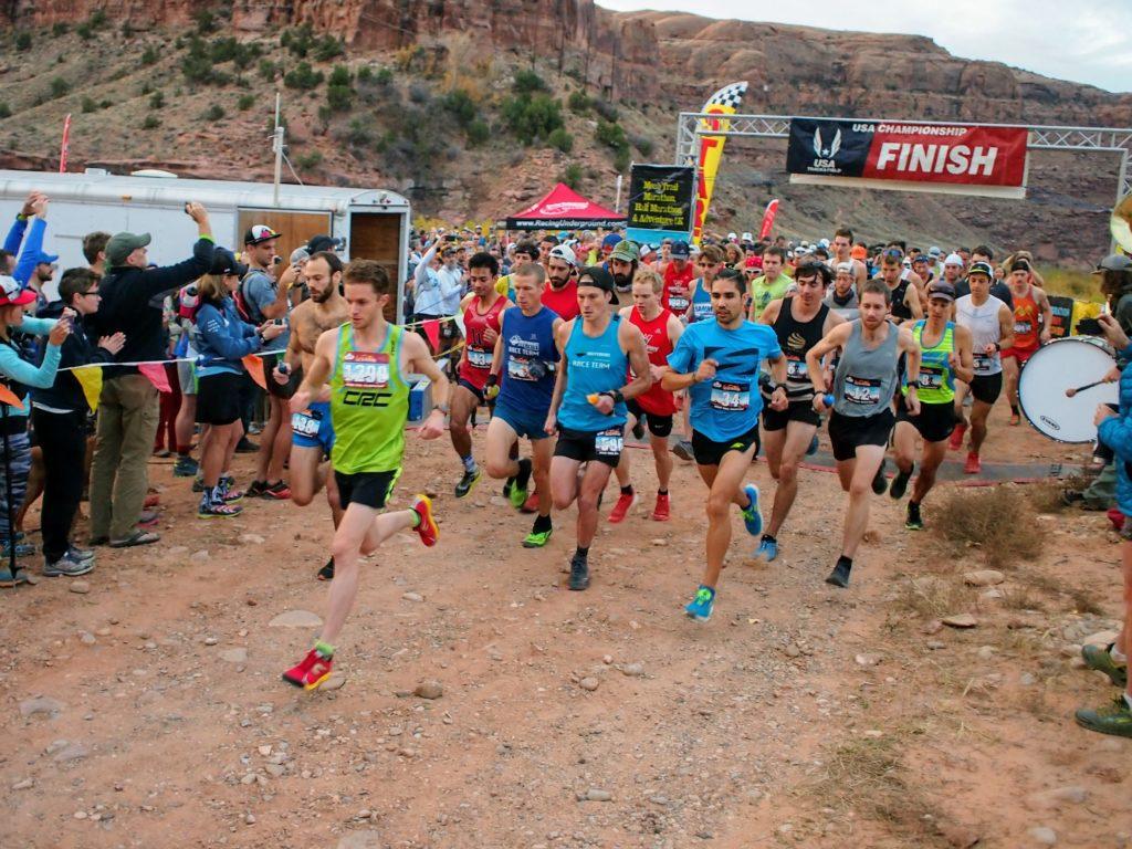 Moab Trail Marathon Race Day
