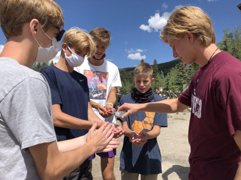 Camp Sanitizing