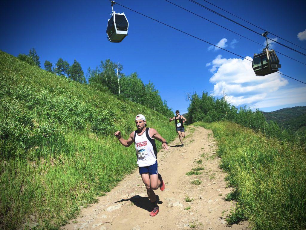 Vail HillClimb downhill